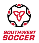 South West Region Soccer Association logo